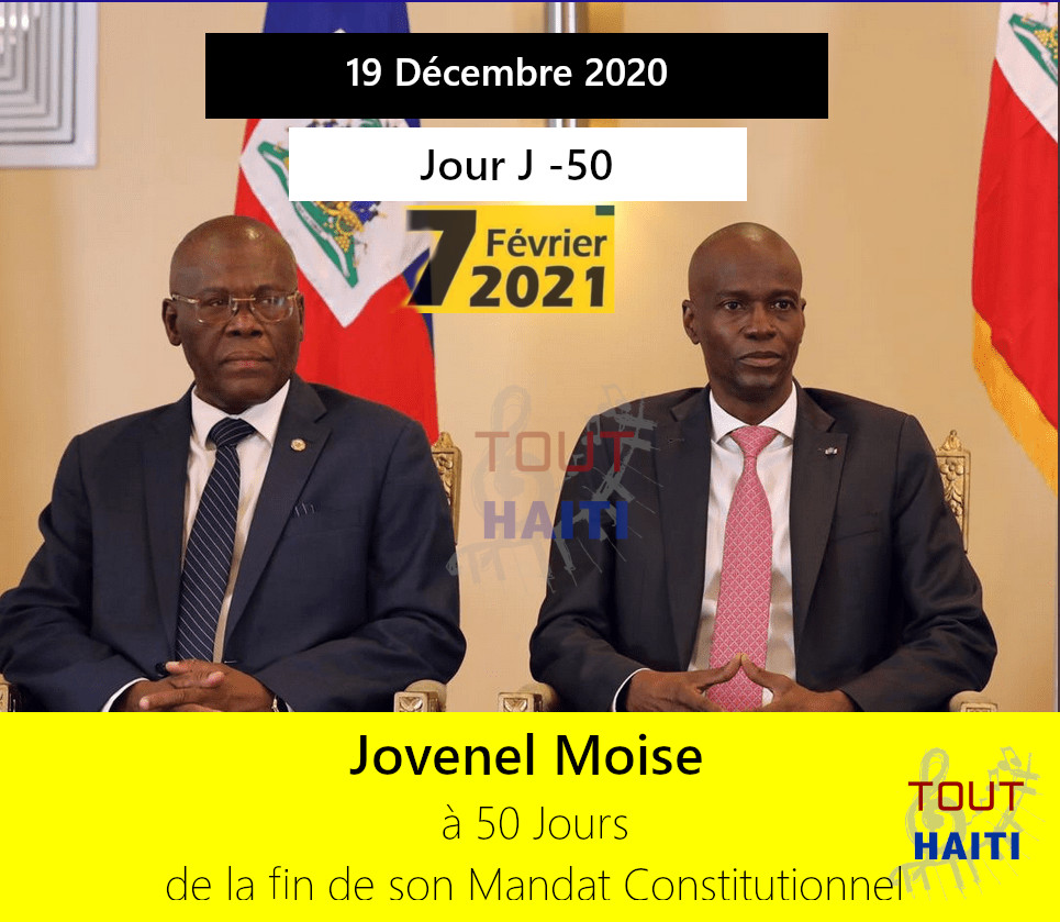 50 count down Jovenel moise