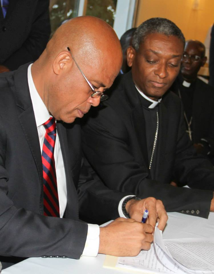 Cardinal Chibly Langlois-michel-martelly