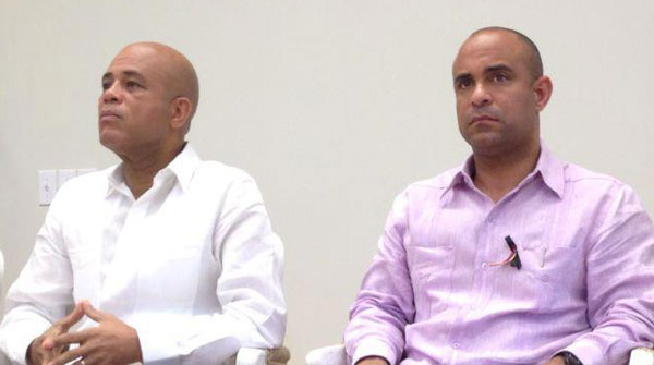 martelly-lamothe-sad