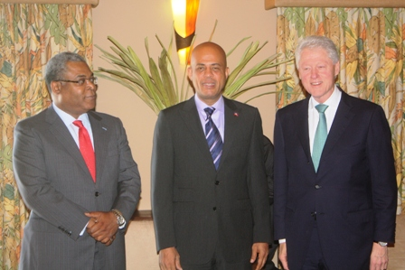 bill clinton martelly bellerive