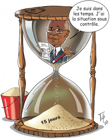 caricature- privert le temps