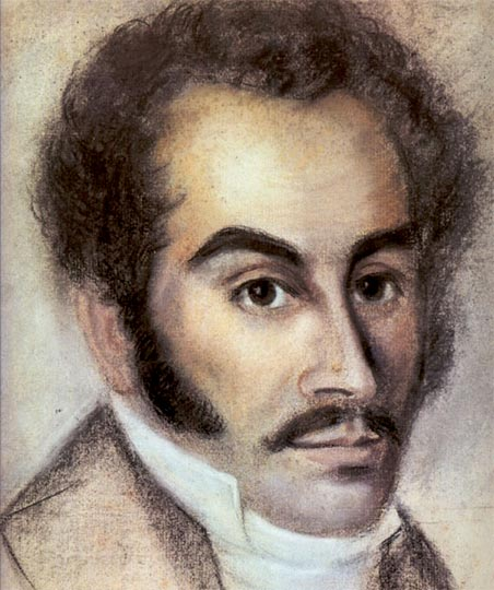 Simon Bolivar in Haiti