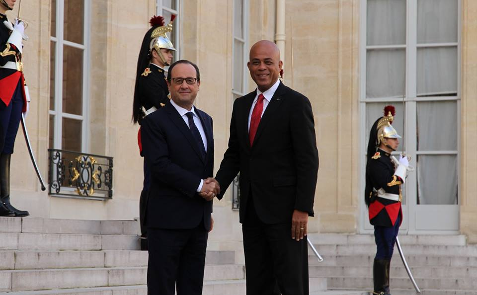martelly francois hollande