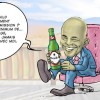 caricature-demission  rotchild position martelly touthaiti