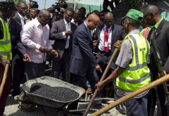 Road construction in Haiti or money bonanza for Laurent Lamothe & Company